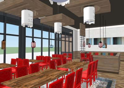 Rendering - Dining Room
