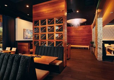Wine Display and Foyer